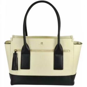 Kate Spade Southport Avenue Oden Leather Tote